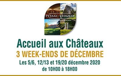 3 week-ends portes ouvertes en décembre !